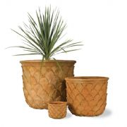 Pineapple Fibreglass Pot